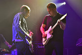 Nathan Willett and Matt Maust of Cold War Kids perform onstage during a private concert for SiriusXM subscribers on December 18 2015 in West...