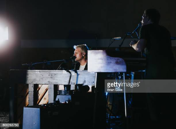 Nathan Willett of Cold War Kids performs at Union Station on June 23 2017 in Los Angeles California