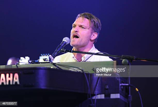 Nathan Willett of Cold War Kids performs onstage during the Amnesty International Concert presented by the CBGB Festival at Barclays Center on...