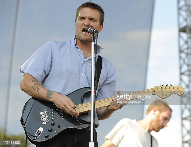 Nathan Willett of the Cold War KidsLondon performs at the Austin City Limits Music Festival Day One at Zilker Park on September 16 2011 in Austin...