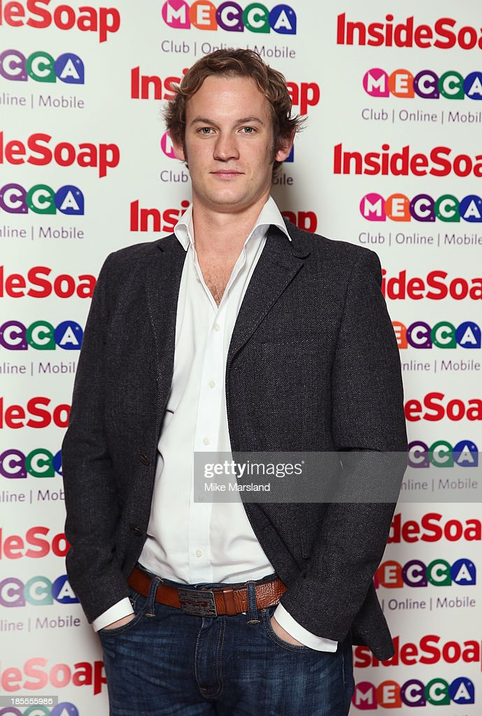Nathan Wright attends The Inside Soap Awards at The Ministry of Sound on October 21, 2013 in London, England.