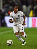 Nathaniel Clyne of England in action during the International Friendly match between Italy and England at Juventus Stadium on March 31 2015 in Turin...