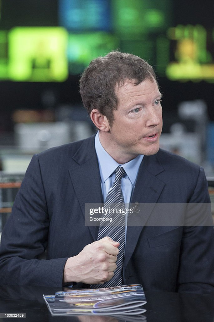 Nathaniel 'Nat' Rothschild, co-founder of Bumi Plc, gestures during a Bloomberg Television interview in London, U.K., on Monday, Feb. 4, 2013. Bumi has urged investors to reject plans by Rothschild, co-founder with Indonesia's Bakrie Group, to regain control of the company by removing 12 of 14 directors and returning himself to the board. Jason Alden/Bloomberg via Getty Images