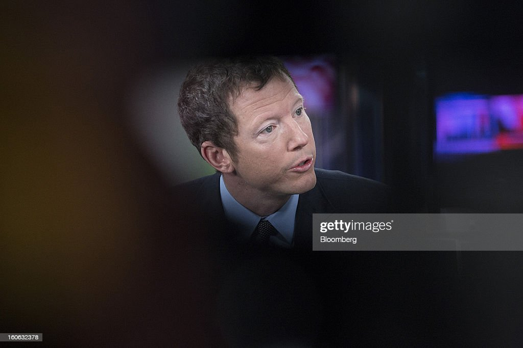 Nathaniel 'Nat' Rothschild, co-founder of Bumi Plc, speaks during a Bloomberg Television interview in London, U.K., on Monday, Feb. 4, 2013. Bumi has urged investors to reject plans by Rothschild, co-founder with Indonesia's Bakrie Group, to regain control of the company by removing 12 of 14 directors and returning himself to the board. Jason Alden/Bloomberg via Getty Images