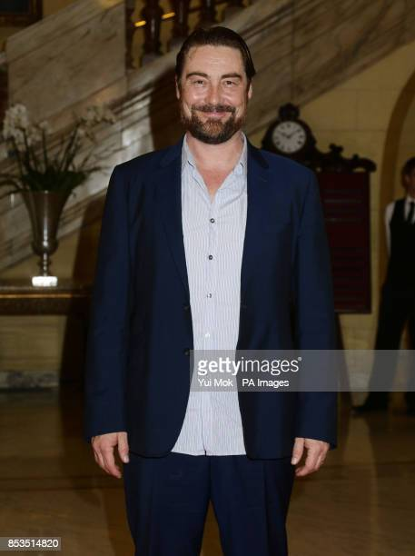 Nathaniel Parker attending a press launch for the new stage production of Wolf Hall and Bring Up The Bodies at 1 Whitehall Place in London