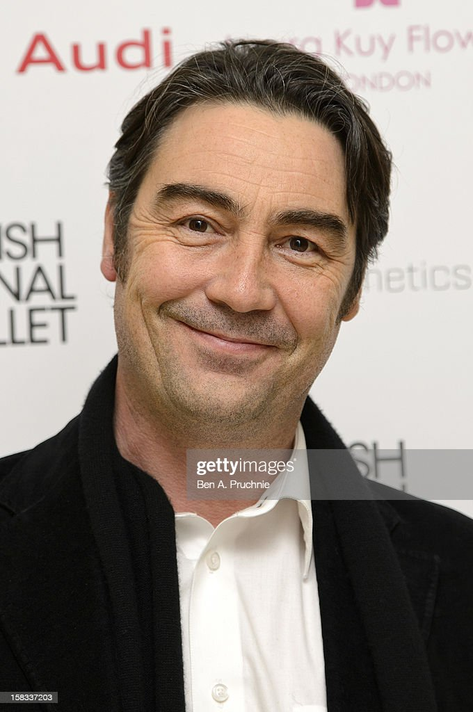 Nathaniel Parker attends the English National Ballets Christmas Party at St Martins Lane Hotel on December 13, 2012 in London, England.