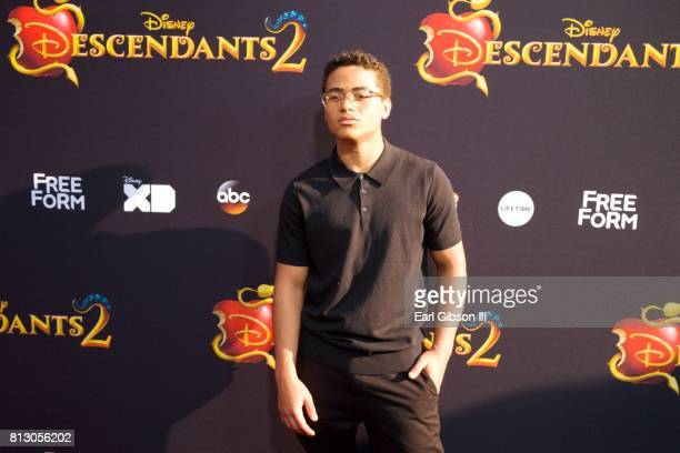 Nathaniel Potvin attends the Premiere Of Disney Channel's 'Descendants 2' at The Cinerama Dome on July 11 2017 in Los Angeles California