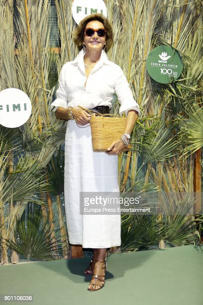 Nati Abascal attends 'NV' fashion show during International Children Fashion Show at Pabellon de Cristal on June 23 2017 in Madrid Spain