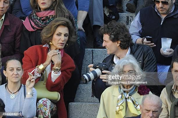 Nati Abascal attends San Isidro Fair on May 23 2014 in Madrid Spain