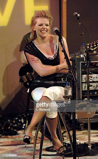Natilie Maines of the Dixie Chicks during Dixie Chicks Featured on XM Satellite Radio's Artist Confidential May 23 2006 at Jazz at Lincoln Center XM...