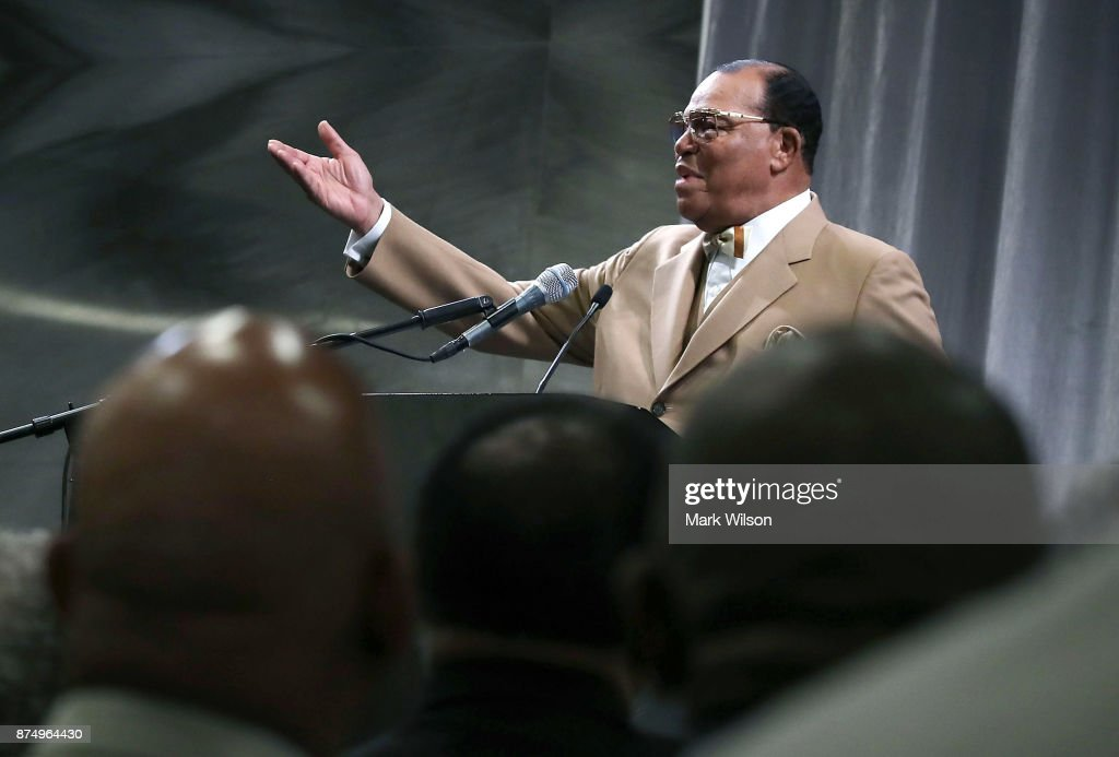 Nation Of Islam Minister Louis Farrakhan Delivers Message To President Trump