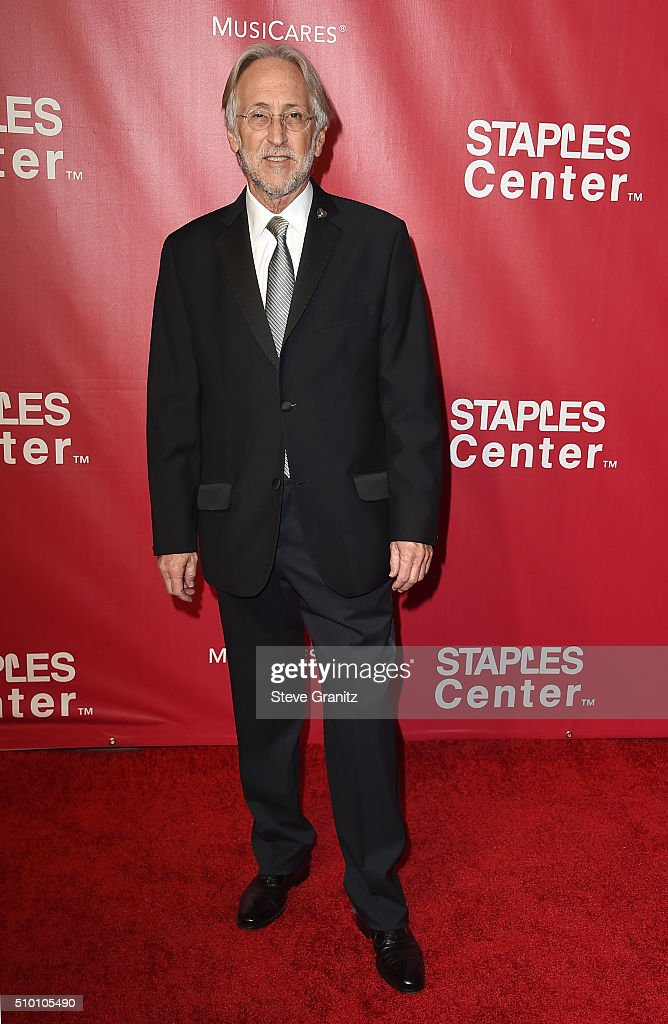 National Academy of Recording Arts and Sciences President Neil Portnow attends the 2016 MusiCares Person of the Year honoring Lionel Richie at the...