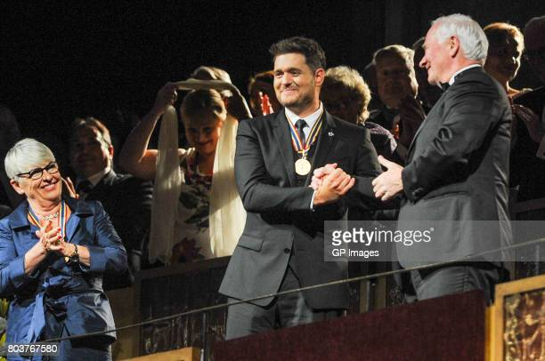 National Arts Centre Award Recipient Michael Buble attends the Governor General's Awards 25th Anniversary Gala at National Arts Centre on June 29...