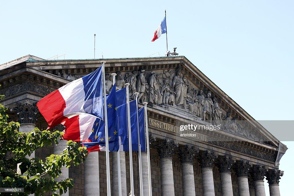 Assemblée Nationale in Paris : Stock-Foto