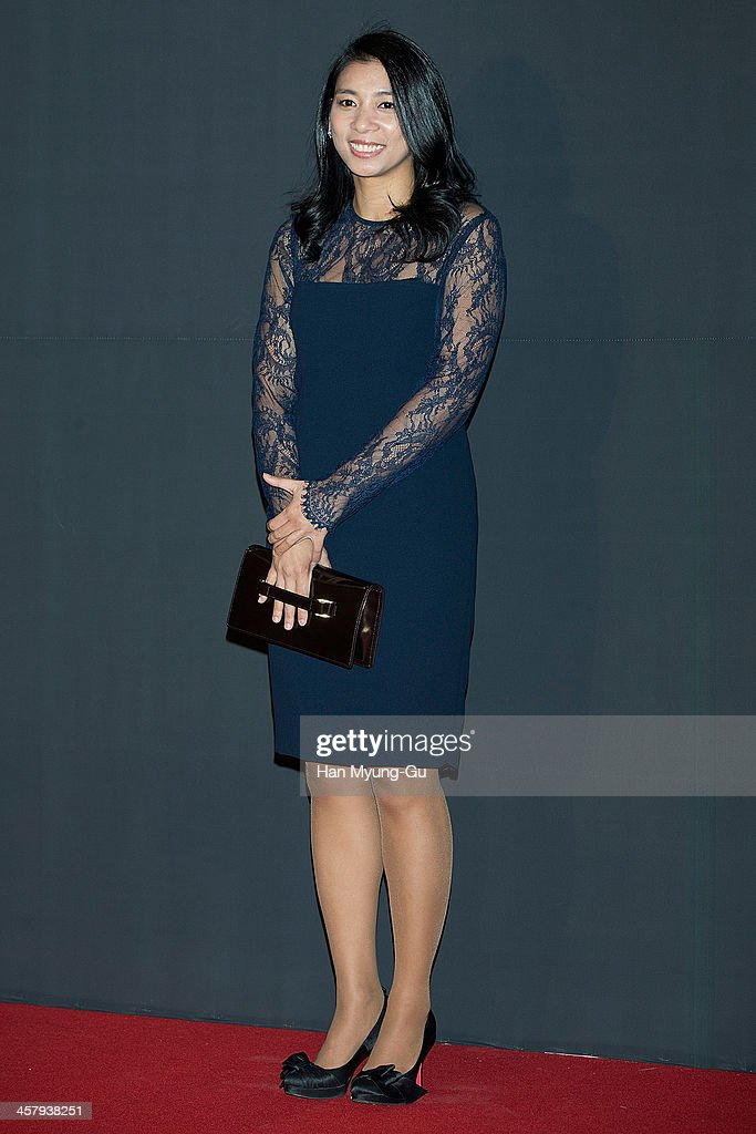 National Assembly of the Saenuri Party, Jasmine Lee attends The 28th Korea Best Dresser 2013 Swan Awards at Shilla Hotel on December 19, 2013 in Seoul, South Korea.