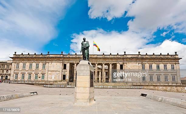 Capitolio nacional de Bogotá, Colombia.