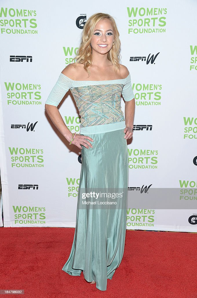 U.S. national climbing champion Sasha DiGiulian attends the 34th annual Salute to Women In Sports Awards at Cipriani, Wall Street on October 16, 2013 in New York City.