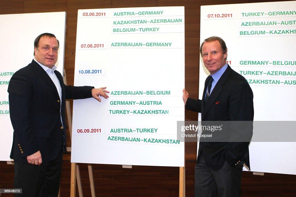 Joachim Loew Meets Euro 2012 Qualifier Opponents