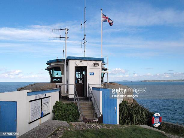National Coastwatch Institution station St Ives Cornwall UK