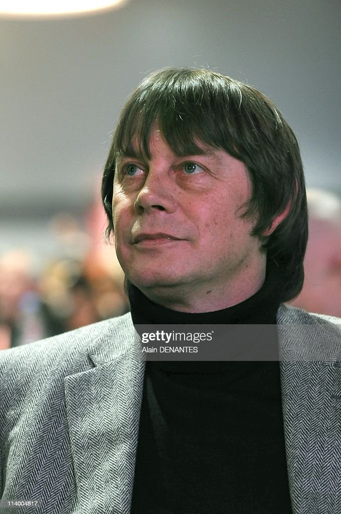 National congress of the syndicate CGT In Nantes France On December 07 2009Fourty ninth national congress of the syndicate CGT Bernard Thibault...