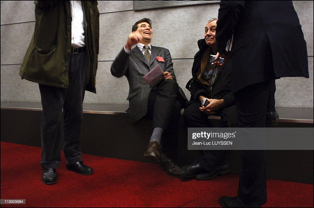 National Council Of The Socialist Party At La Defense - On November 26Th, 2005 - In Puteaux, France - Here, Arnaud Montebourg -