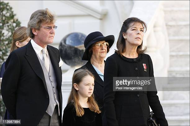 National Day in Monaco Official ceremony at the Palace In Monte Carlo Monaco On November 19 2008ErnstAugust of Hanover Princess Alexandra of Hanover...