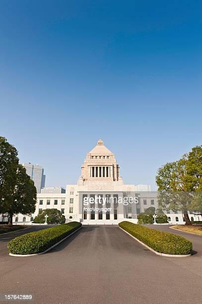 国会議事堂の建築区日本東京