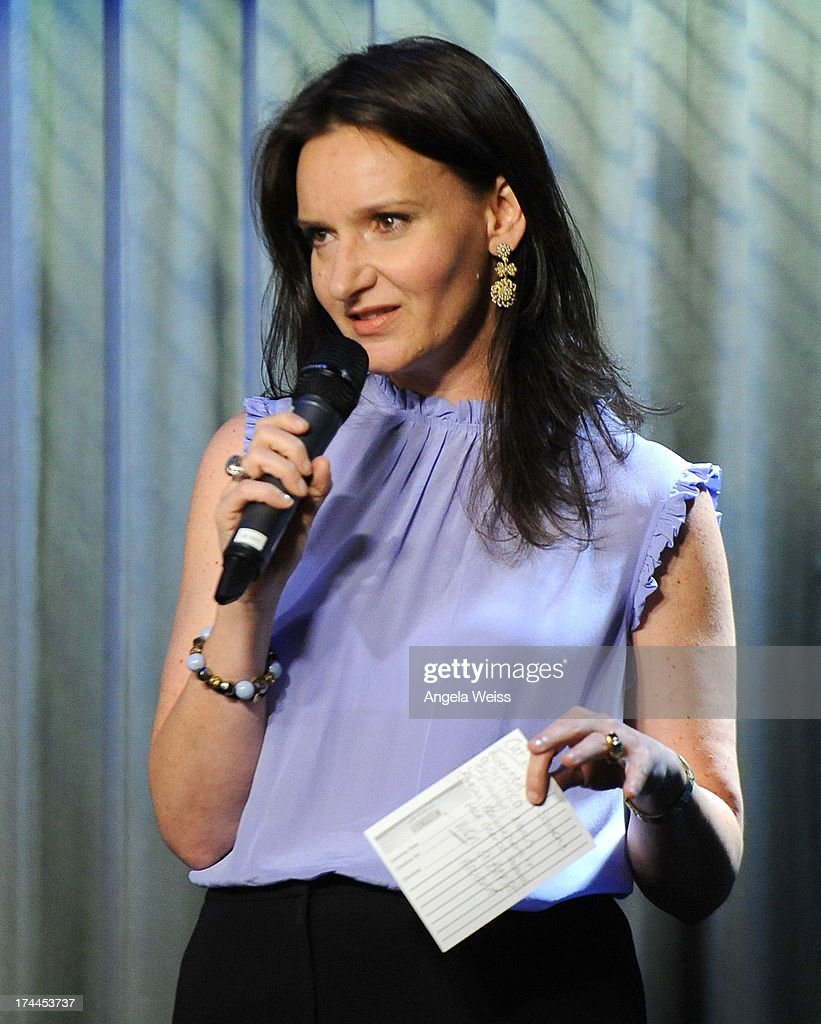National Director for Actors Programs <a gi-track='captionPersonalityLinkClicked' href=/galleries/search?phrase=Rochelle+Rose&family=editorial&specificpeople=6381913 ng-click='$event.stopPropagation()'>Rochelle Rose</a> attends the Screen Actors Guild Foundation, SAG-AFTRA and Career Transitions for Dancers presents 'Dancers Forum' with Nigel Lythgoe, Cat Deeley, Adam Shankman, Kym Johnson, tWitch and more at SAG Foundation Actors Center on July 25, 2013 in Los Angeles, California.