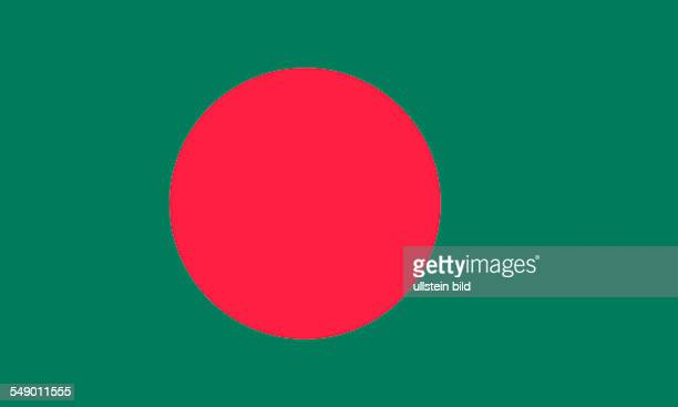 National flag of the People's Republic of Bangladesh