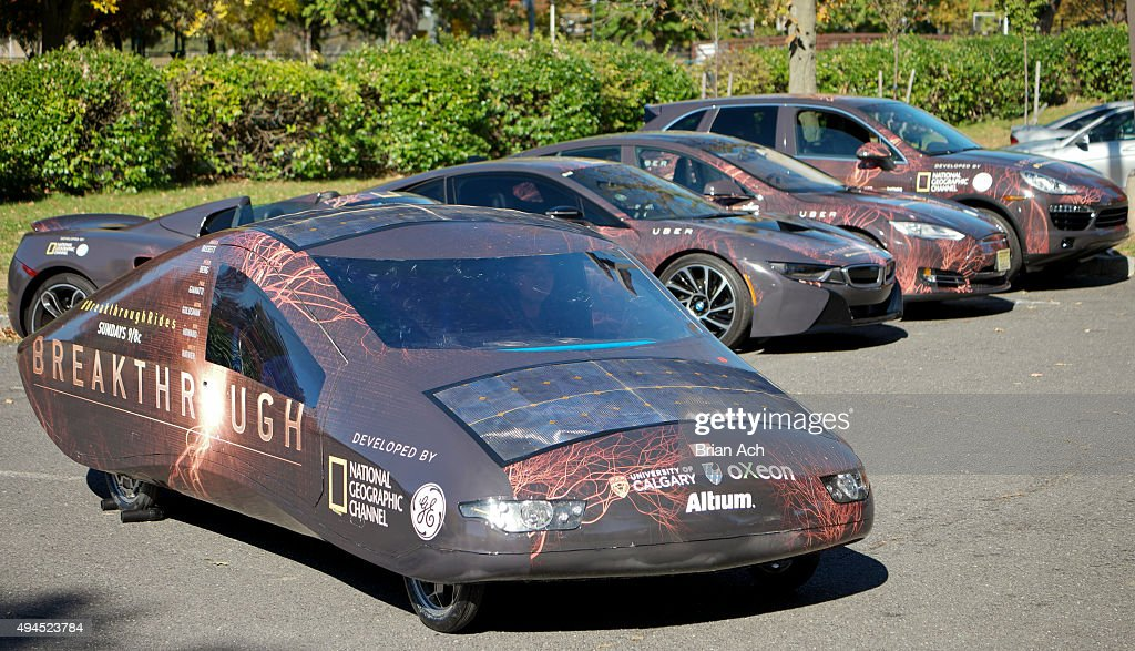National Geographic Channel and Uber bring firstofitskind alternative energy fleet to NYC to celebrate the groundbreaking new series 'Breakthrough'...