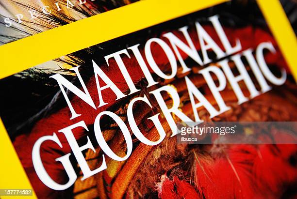 National Geographic cubierta primer plano