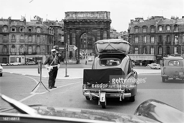National Highway 10 From Paris To Hendaye En juillet 1966 le patrimoine routier français se dégrade les routes très sollicitées sont mal entretenues...