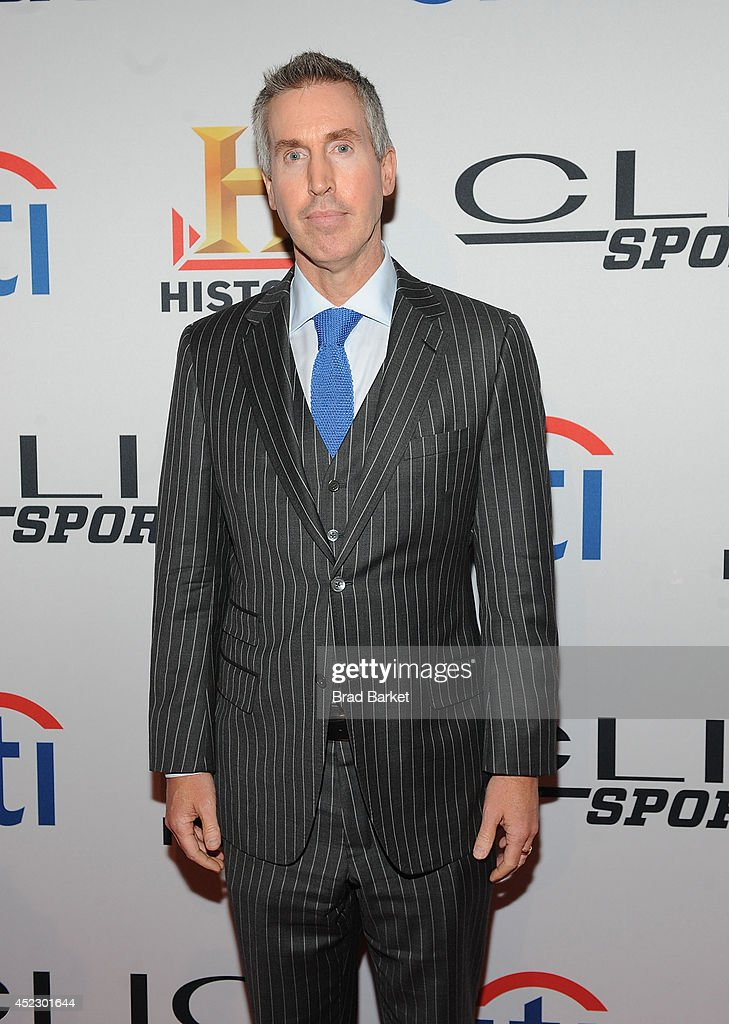 National Hockey League Executive VP Brian Jennings attends the 2014 Clio Sports Awards at Cipriani 42nd Street on July 17 2014 in New York City