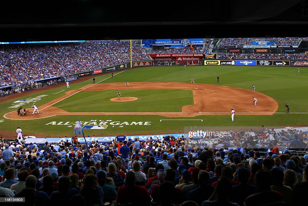National League All-Star <a gi-track='captionPersonalityLinkClicked' href=/galleries/search?phrase=Stephen+Strasburg&family=editorial&specificpeople=6164496 ng-click='$event.stopPropagation()'>Stephen Strasburg</a> #37 of the Washington Nationals pitches in the fourth inning during the 83rd MLB All-Star Game at Kauffman Stadium on July 10, 2012 in Kansas City, Missouri.