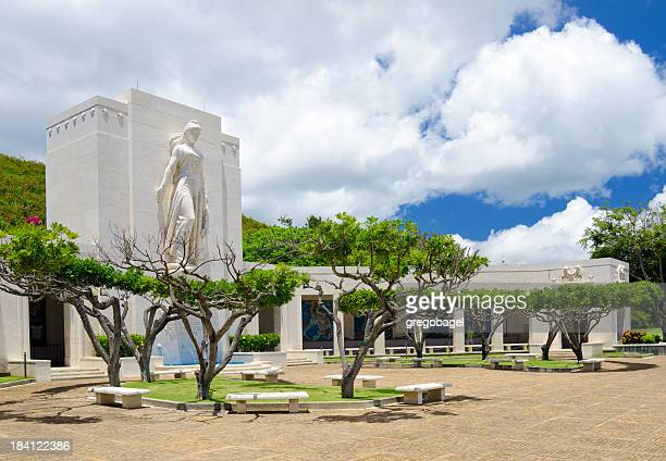 National Memorial des Pacific in Honolulu, Hawaii, USA