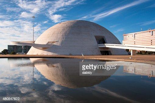 Museu Nacional do Brasil República : Foto de stock