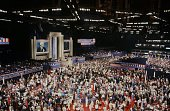 National Party Conventions '1992 Republican National Convention' Pictured Inside the Astrodome during the 1992 Republican National Convention held at...