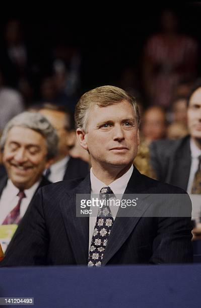 National Party Conventions '1992 Republican National Convention' Pictured Incumbent Vice President Dan Quayle during the 1992 Republican National...