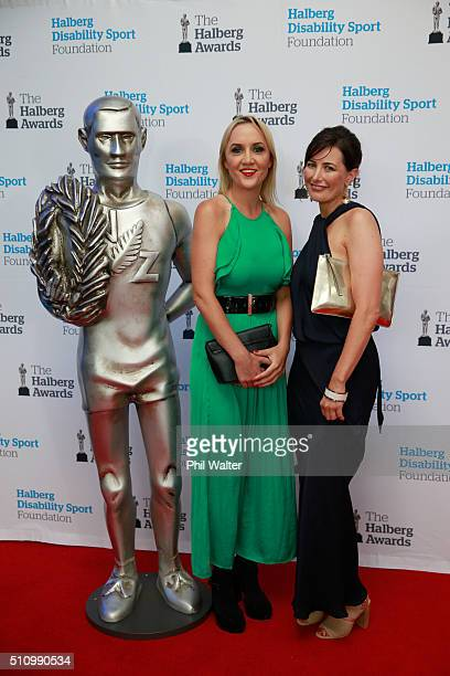 National Party MP Nikki Kaye during the 2016 Halberg Awards at Vector Arena on February 18 2016 in Auckland New Zealand