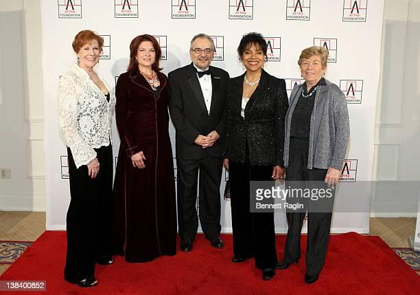AFTRA National President Roberta Reardon winner of the 2012 AMEE Award in Sound Recordings Rosanne Cash winner of the 2012 AMEE Award in Broadcast...