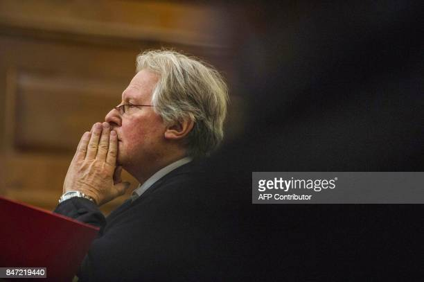 National Prosecuting Authority lawyer Hilton Epstein attends the spy tape case at the Supreme Court of Appeal in Bloemfontein on September 14 2017...