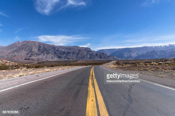 National Route 7 in Mendoza, Argentina, which leads to Chile, passing through Mount Aconcagua