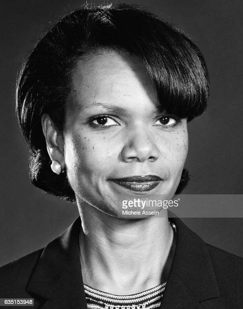 National Security Advisor Condoleezza Rice poses for a portrait in 2002 in Washington DC