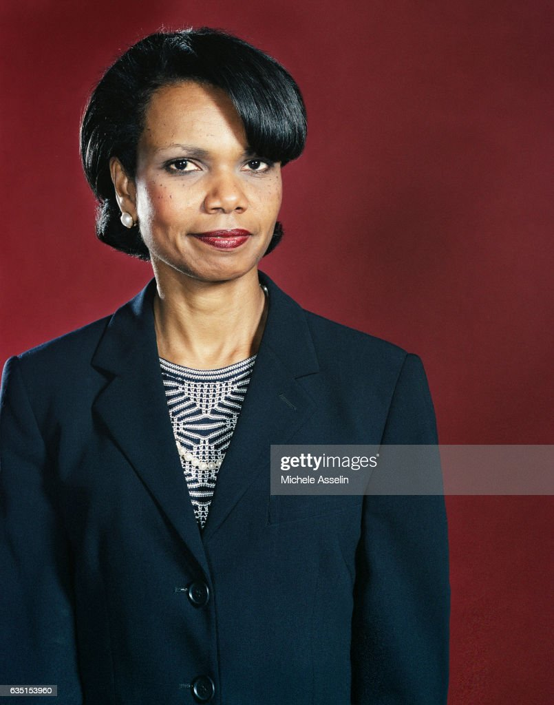 Condoleezza Rice, Portrait Session, 2002