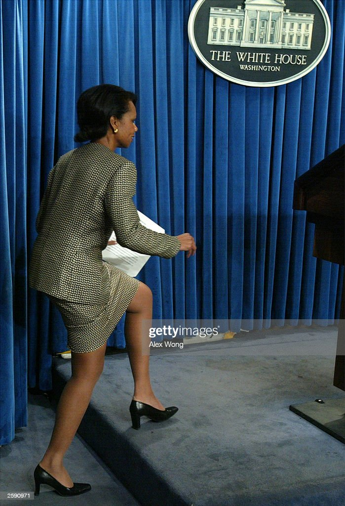upskirt Condoleezza briefing rice
