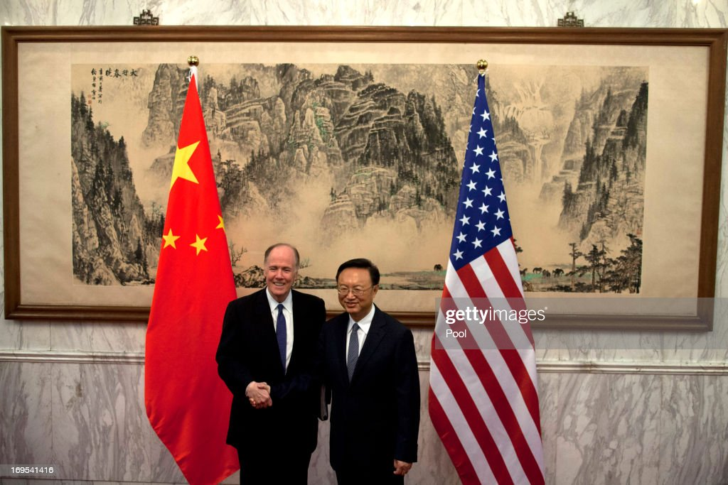 U.S. National Security Advisor Tom Donilon Visits China