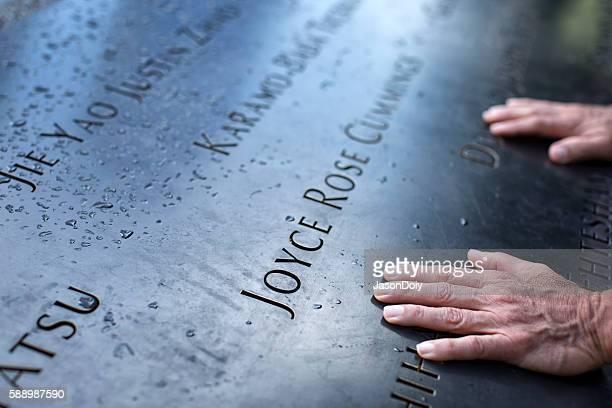 National September 11 Memorial in Manhattan