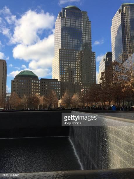 National September 11th memorial & museum in lower Manhattan