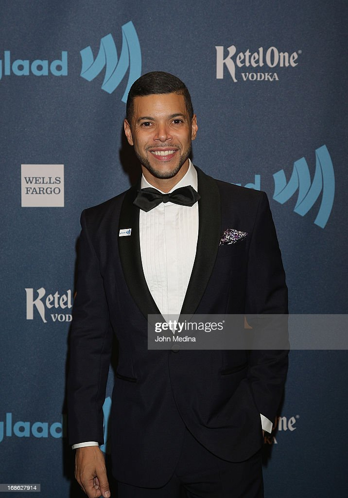 GLAAD national spokesperson <a gi-track='captionPersonalityLinkClicked' href=/galleries/search?phrase=Wilson+Cruz&family=editorial&specificpeople=660625 ng-click='$event.stopPropagation()'>Wilson Cruz</a> attends the 24th Annual GLAAD Media Awards at the Hilton San Francisco - Union Square on May 11, 2013 in San Francisco, California.