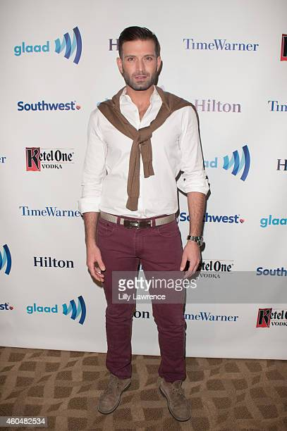 National Spokesperson/actor Omar Sharif Jr attends 17th Annual Wintertime GLAAD Tidings Event at The Beverly Hilton Hotel on December 14 2014 in...